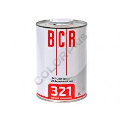 Лак акриловый BCR REDLINE 321MS 1,0+отв 0,5л