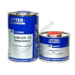 FITTER F10 MS KLARLACK ( 1 л+отв. 0,5 л )