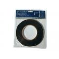 Двусторонняя клеящая лента 06ммх05м черная Fitter