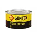 Шпатлевка 2К GLASS FIBER PUTTY GUNTEX 1кг