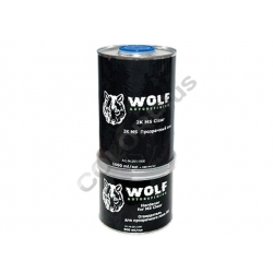 Прозрачный лак MS 2:1 1л + Отвердитель 0,5л   WOLF